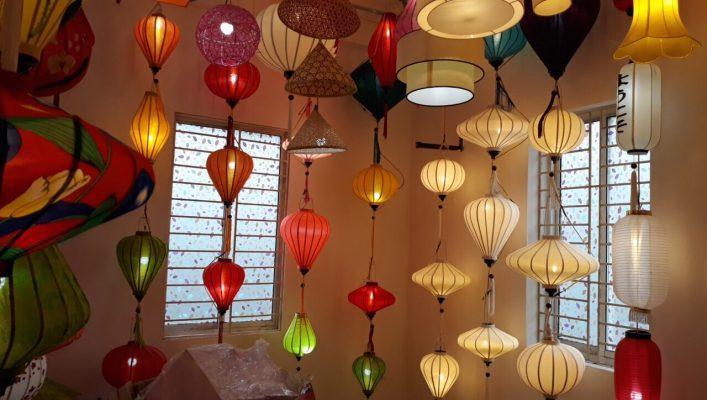 Lồng đèn Hội An đẹp rẻ tại Hà Nội | Đèn lồng Tết