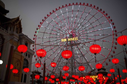 Lồng đèn Hội An tại Đà Nẵng - Trang trí Asia Park Đà Nẵng