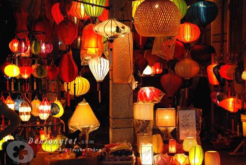 Cửa hàng lồng đèn Đà Nẵng