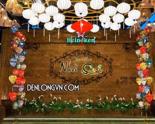 Đèn lồng trang trí thuần Việt