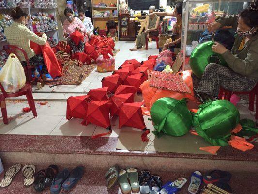 Lồng đèn Hội An tại Đà Nẵng